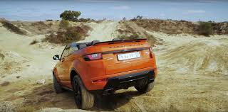 evoque land rover convertible can a range rover evoque convertible handle itself off road