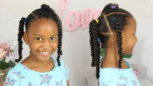 Little Girls Ponytail Hairstyles by Easy Ponytails Little Girls Hair Style Natural Hair Youtube