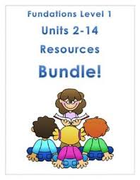 Fundations Level   Units      Bundle  Resources for a whole year of Level
