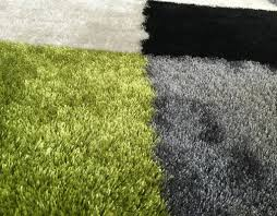 Lime Green Shag Rugs Chic Lime Green And Black Area Rugs 130 Lime Green And Black