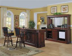 home bar furniture monticello home bar set in cherry finish