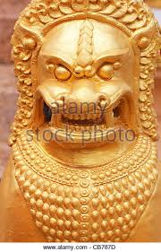 gold lion statues gold lion stock photos gold lion stock images alamy
