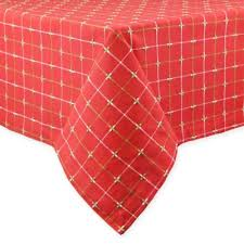 bed bath and beyond christmas table linens buy christmas tablecloth from bed bath beyond