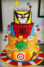 126 best superhero cakes and cupcakes images on pinterest