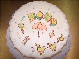 simple baby shower cakes to make u2014 c bertha fashion cute simple
