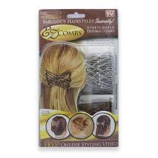 ez combs ez combs haarspange silber 2er pack