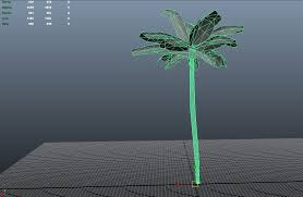 palm tree for udk polycount