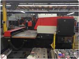 amada 20 22 ton turret punch pressfor sale d f w supply company