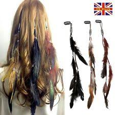 feather hair clip women s feather hair ebay
