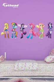 1941 best wall decals images on pinterest wall stickers vinyl put your passion on display with a giant my little pony equestria girls collection fathead wall decal