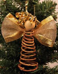 funezcrafts easy crafts spiral wire ornament