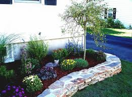 Colored Rocks For Garden Garden Rock Landscaping Front Yard Front Yard Landscape Ideas