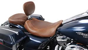 mustang touring seat mustang distressed brown seat for touring harley at cyril huze