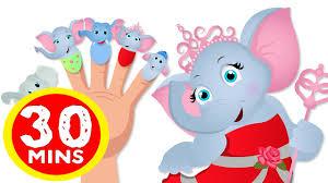 elephant finger family song finger family elephant family