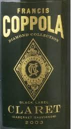 francis coppola claret 2003 francis ford coppola cabernet sauvignon diamond collection