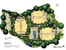 Landscape Floor Plan by Bali Savino Miller Landscape Architects