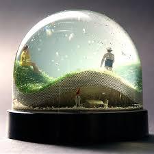 and nisse snow globes by jaja moco loco