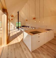 Wood Interior Design by Copper And Wood Interior Of Timber House By Kühnlein Architektur
