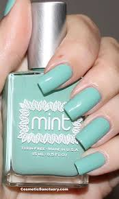 mint polish swatches and review u2013 original mint and ribbon dancer