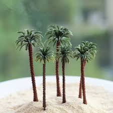 artificial coconut tree ornaments miniatures for garden