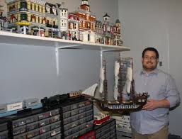 adult legos childhood fascination turns into huge adult hobby for local man