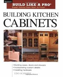 Building Frameless Kitchen Cabinets Building Kitchen Cabinets Handyman Tips