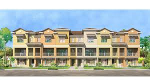 3 Story Homes Grande Oaks At Heathrow New Model Townhomes For Sale