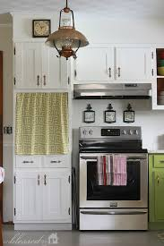 Curtains For Cupboard Doors Update Kitchen Cabinet Doors On A Dime Hometalk