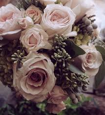 vintage bouquet and vintage bouquet of antique hydrangeas garden roses