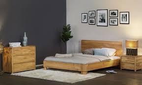 chambre lit meubles haut de gamme pour la chambre lit chevet commode en bois