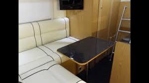 volkswagen camper inside thunderbird 2 custom motorhome vw crafter camper youtube