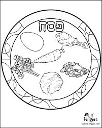 jewish coloring book passover coloring pages