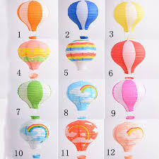 12 16 air balloon paper lantern home room birthday