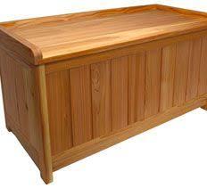 Diy Outdoor Storage Bench Seat by Best 25 Cedar Bench Ideas On Pinterest Courtyard Ideas
