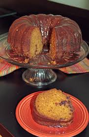 pumpkin bundt cake with nutella glaze hollie u0027s hobbies