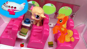 pinkie pie kitty airlines jet playset toy review