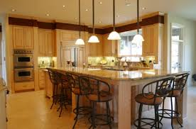 home design italian modern kitchen with t shaped cabinetry along