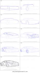 lamborghini car drawing how to draw lamborghini centenario printable step by step drawing