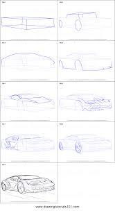 lamborghini car drawing how to draw lamborghini centenario printable step by step drawing