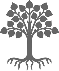 free vector graphic plant silhouette grey tree free image on