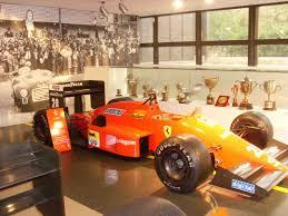ferrari museum classic late 80s f1 car in ferrari museum maranello u2022