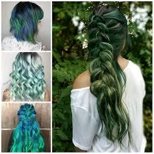 vert couleur des cheveux des idées pour 2017 votre coiffure hair