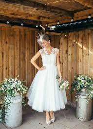 tea length wedding dresses uk wedding dress silhouette glossary confetti co uk