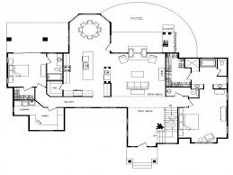 large cabin plans log cabin floor plans with basement mansions home open small and