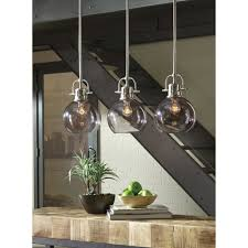 3 Light Kitchen Island Pendant by Burner 3 Light Kitchen Island Pendant Pendant Lights Pinterest