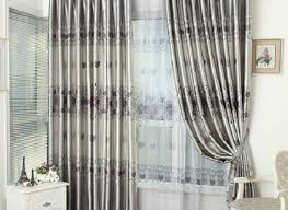 Curtains For Grey Living Room Blackout Curtains Gray Textured 3 Layer Blackout Panels Groupon