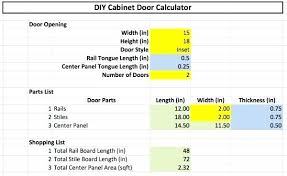 Cabinet Door Dimensions Cabinet Door Rail And Stile Width 1 True Flat Light Door Vs