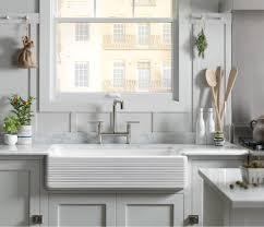 white on white kitchen kohler