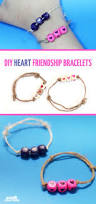 heart friendship bracelets tutorial moms and crafters