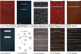 Acrylic Panels Cabinet Doors Scratch Resistant High Gloss Arcylic Panel Glazed Kitchen Cabinet